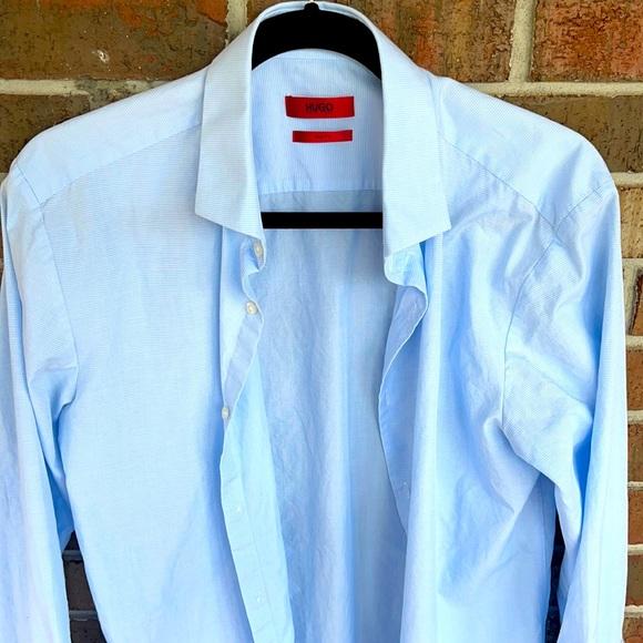 Men's Slim Fit Hugo Boss Red Label Dress Shirt
